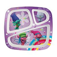 DreamWorks Trolls 3-Section Plate