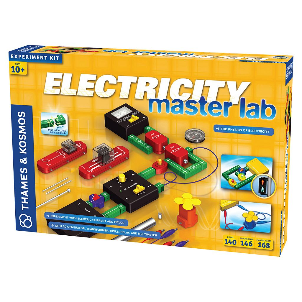 Thames & Kosmos Electricity Master Lab Experiment Kit