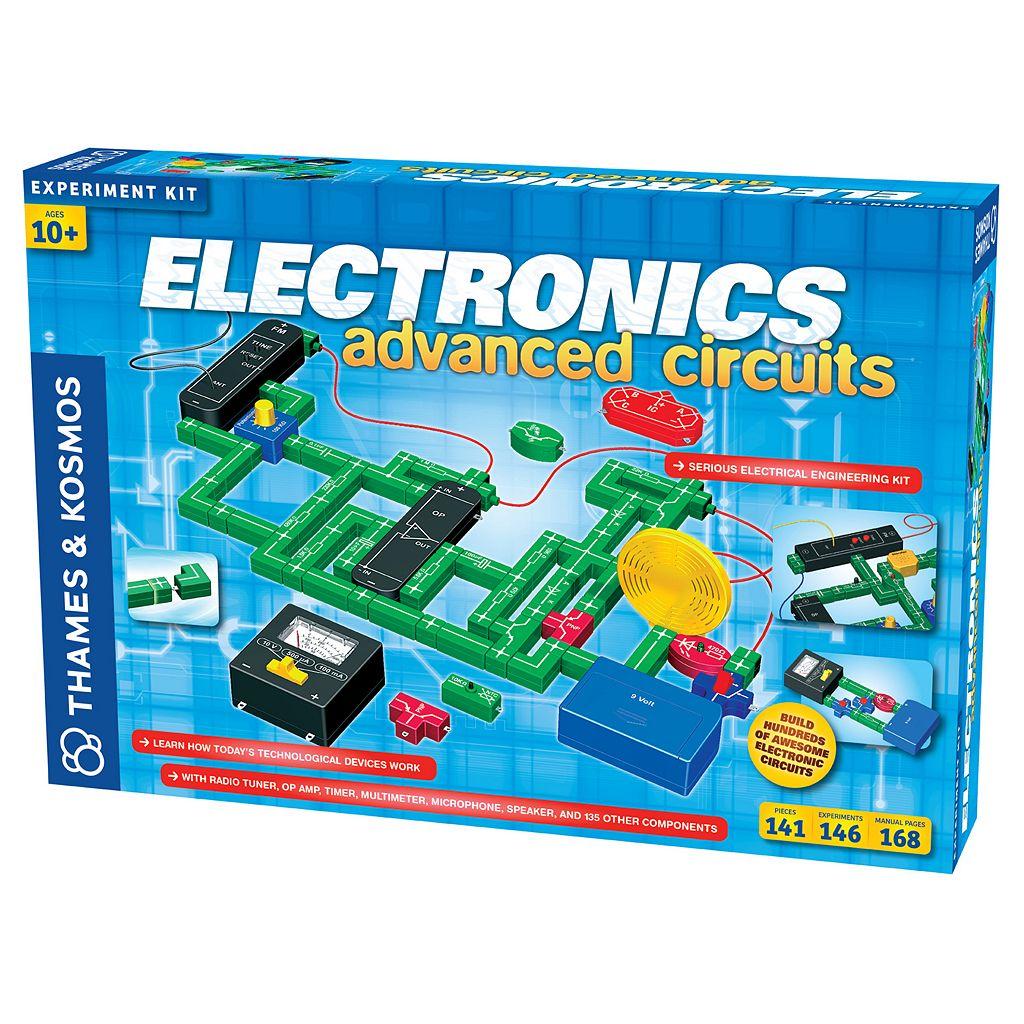 Thames & Kosmos Electronics Advanced Circuits Experiment Kit