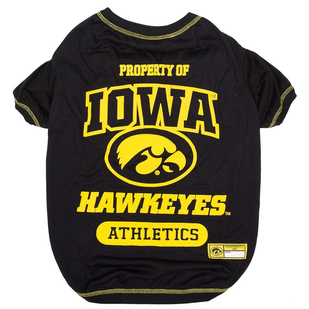 Iowa Hawkeyes Pet Tee