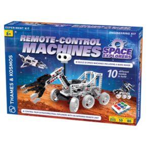 Thames & Kosmos Remote-Control Machines Space Explorers Engineering Kit