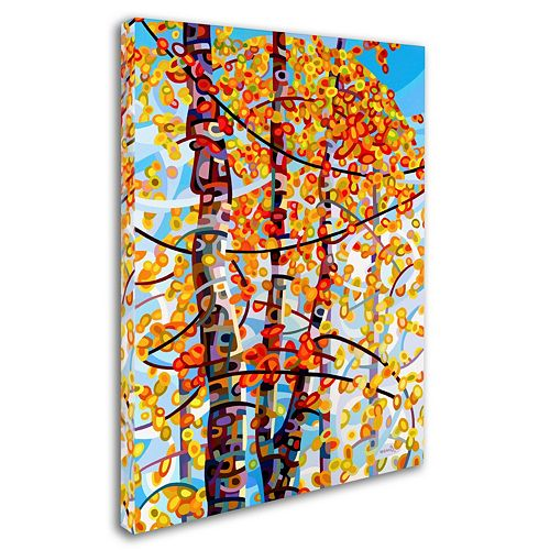 "Trademark Fine Art Mandy Budan ""Panoply"" Canvas Wall Art"