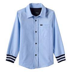 Boys 4-7 Hurley Button-Down Shirt