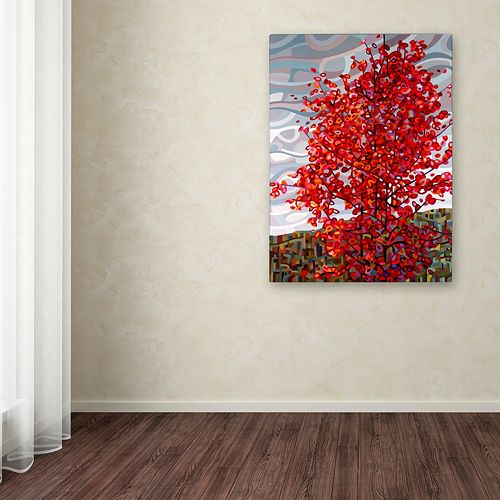 "Trademark Fine Art Mandy Budan ""Passing Storm"" Canvas Wall Art"