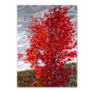 "Trademark Fine Art Mandy Budan ""Passing Storm"" Canvas Wall Art"