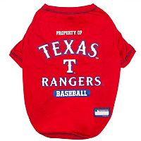 Texas Rangers Pet Tee