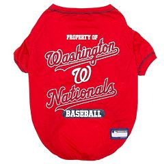 Washington Nationals Pet Tee
