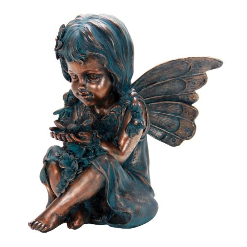 Exhart Fairy Statue Outdoor Decor
