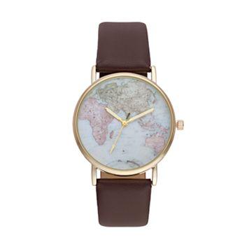 Vivani Women's World Map Watch