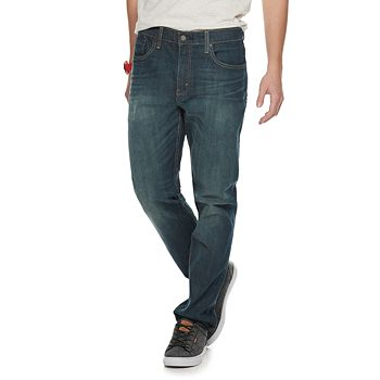 f54df98811 Men s Levi s® 502™ Regular Taper-Fit Stretch Jeans