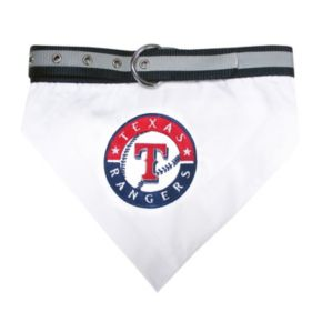 Pets First Texas Rangers Bandana Collar
