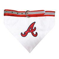 Pets First Atlanta Braves Bandana Collar