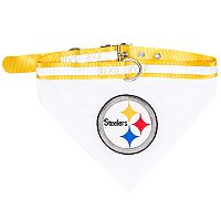Pittsburgh Steelers NFL Bandana Pet Collar