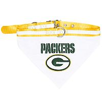 Green Bay Packers NFL Bandana Pet Collar