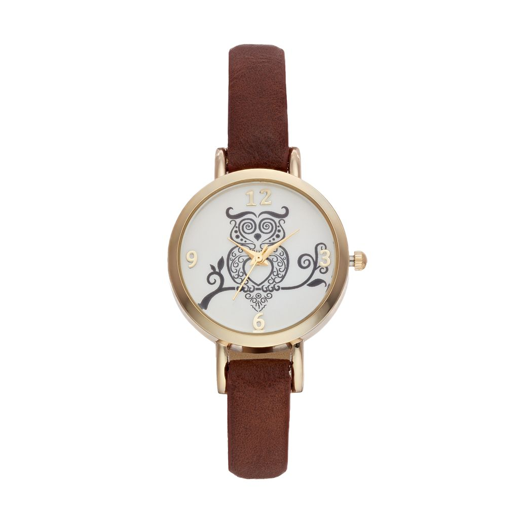 Vivani Women's Owl Watch