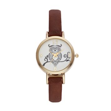 Vivani Women's Owl Watch