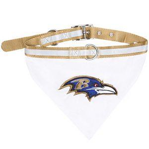 Baltimore Ravens NFL Bandana Pet Collar