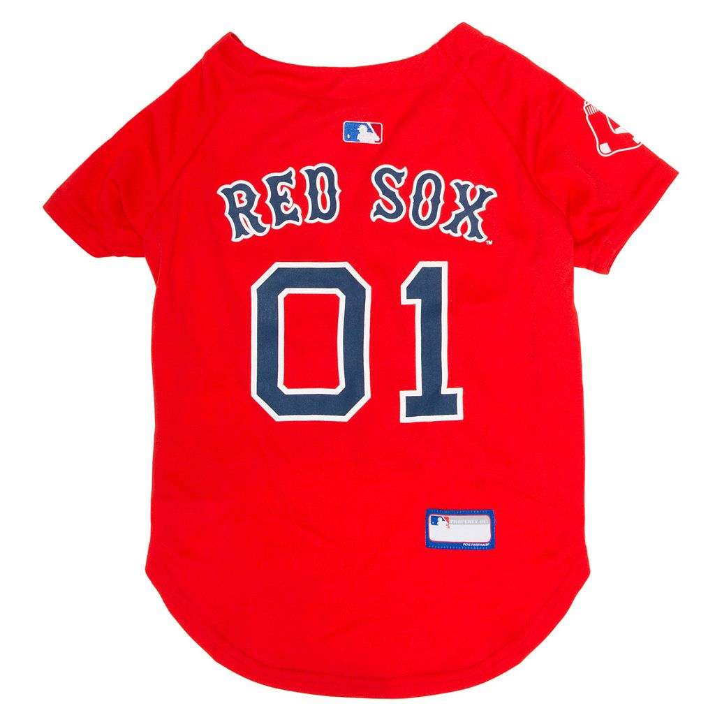 Boston Red Sox Mesh Pet Jersey