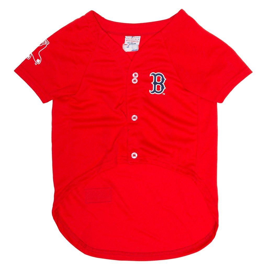 Boston Red Sox Mesh Pet Jersey