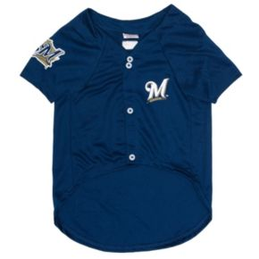 Milwaukee Brewers Mesh Pet Jersey