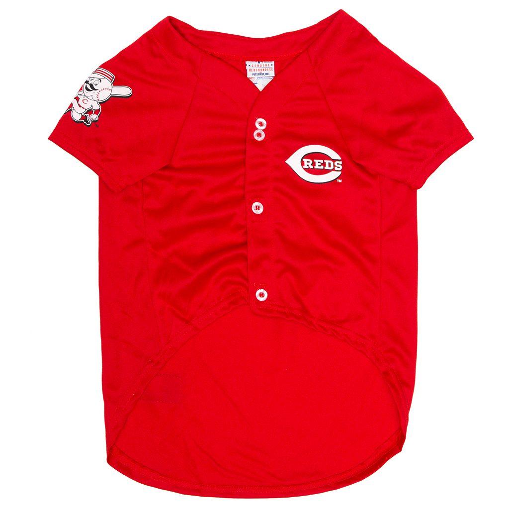 Cincinnati Reds Mesh Pet Jersey