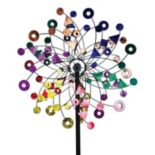 "Exhart 24"" Giant Spinner Outdoor Garden Stake"
