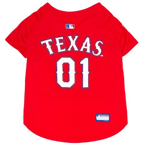 Texas Rangers Mesh Pet Jersey