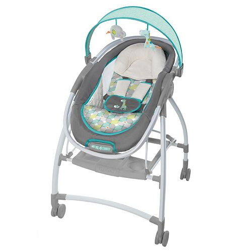 Ingenuity Inreach Mobile Quincy Convertible Lounger Bouncer