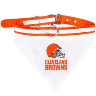 Cleveland Browns NFL Bandana Pet Collar