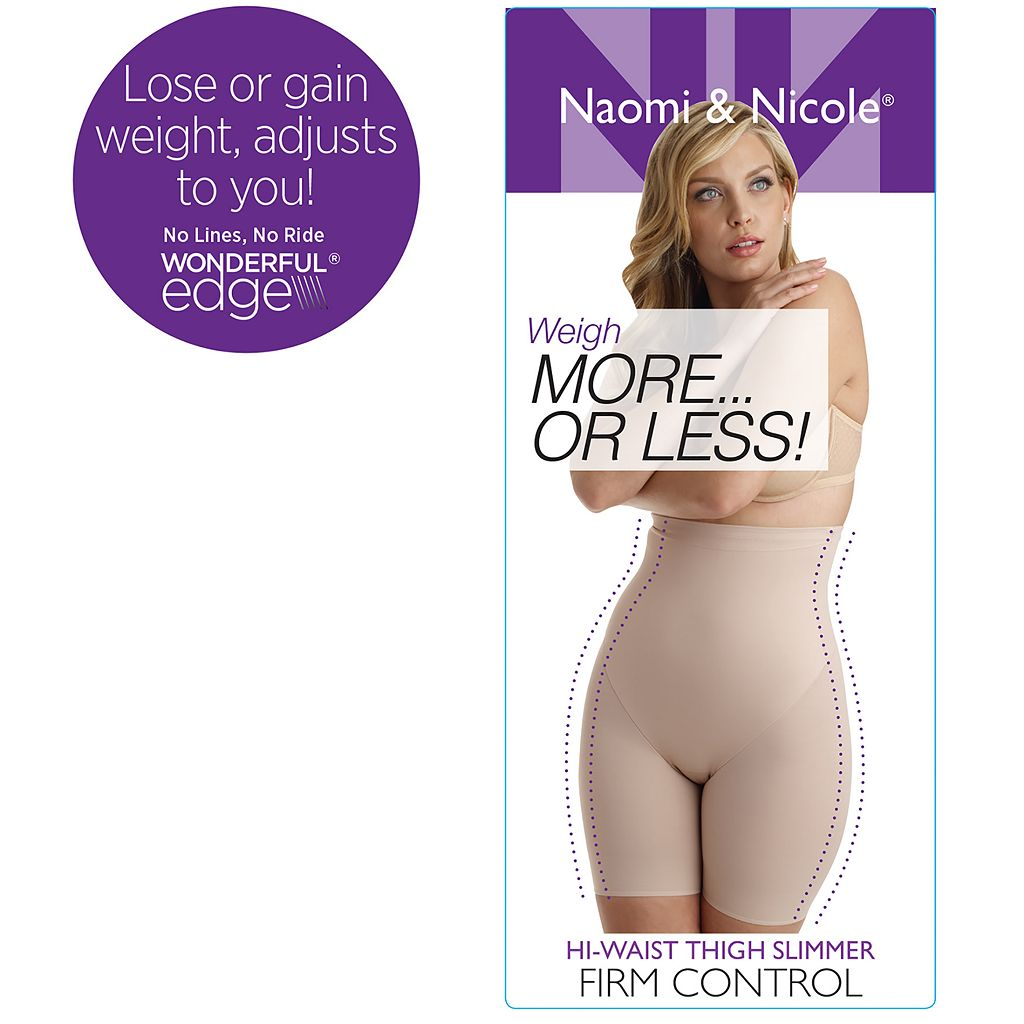 Naomi & Nicole More or Less High-Waist Thigh Slimmer 7239