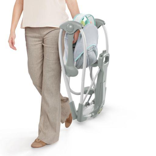 InGenuity Swing 'n Go Hugs & Hoots Portable Swing