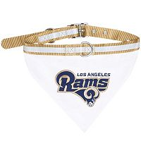 Los Angeles Rams NFL Bandana Pet Collar