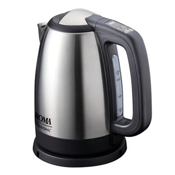 Aroma 1.7-Liter Stainless Steel Digital Electric Kettle
