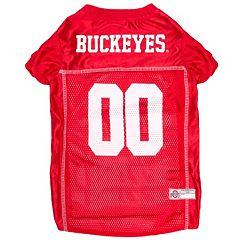 Ohio State Buckeyes Mesh Pet Jersey