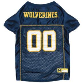 Michigan Wolverines Mesh Pet Jersey