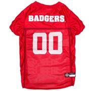 Wisconsin Badgers Mesh Pet Jersey