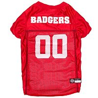Wisconsin Badgers Mesh Pet Jersey