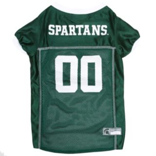 Michigan State Spartans Mesh Pet Jersey