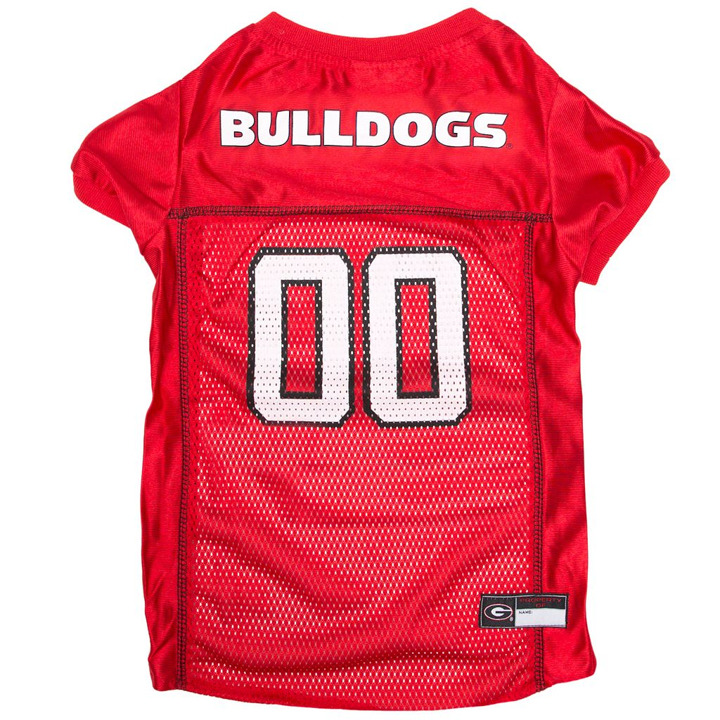 Georgia Bulldogs Mesh Pet Jersey