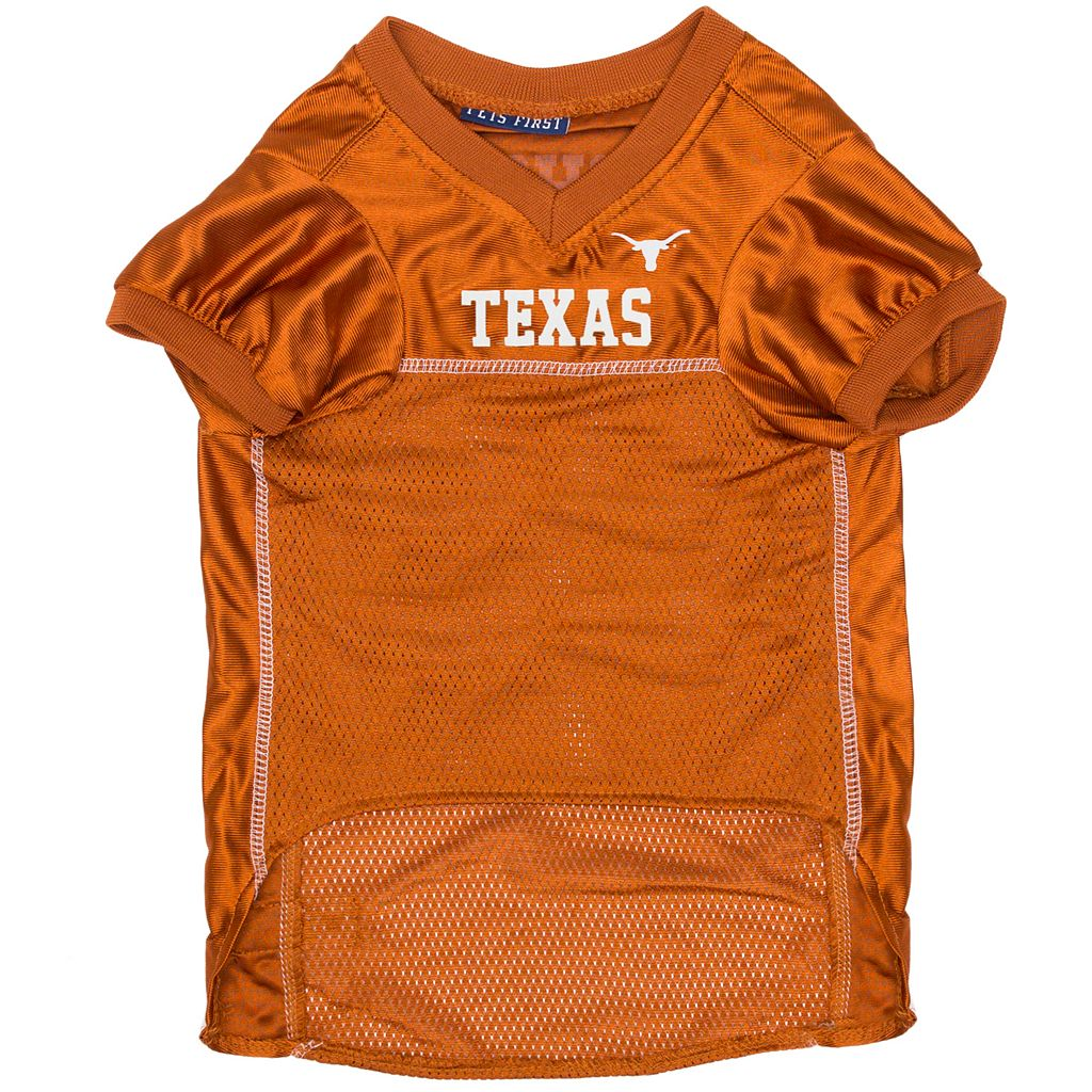 Texas Longhorns Mesh Pet Jersey