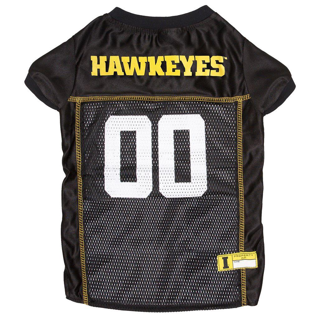 Iowa Hawkeyes Mesh Pet Jersey