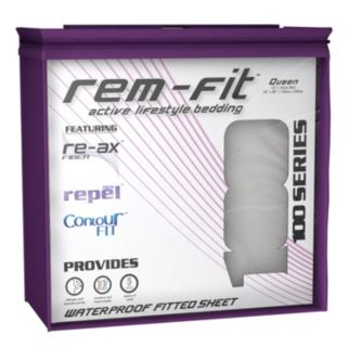 Protect-A-Bed REM-Fit Energize 100 Series Fitted Sheet Mattress Protector