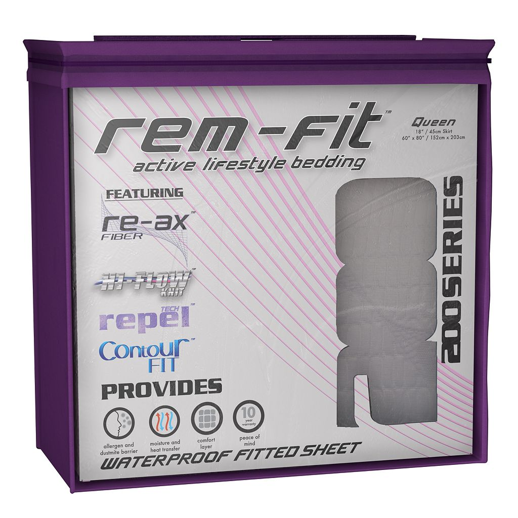 Protect-A-Bed REM-Fit Energize 200 Series Fitted Sheet Mattress Protector