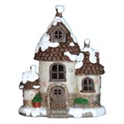 Exhart 12.5' LED Holiday Cottage Outdoor Decor