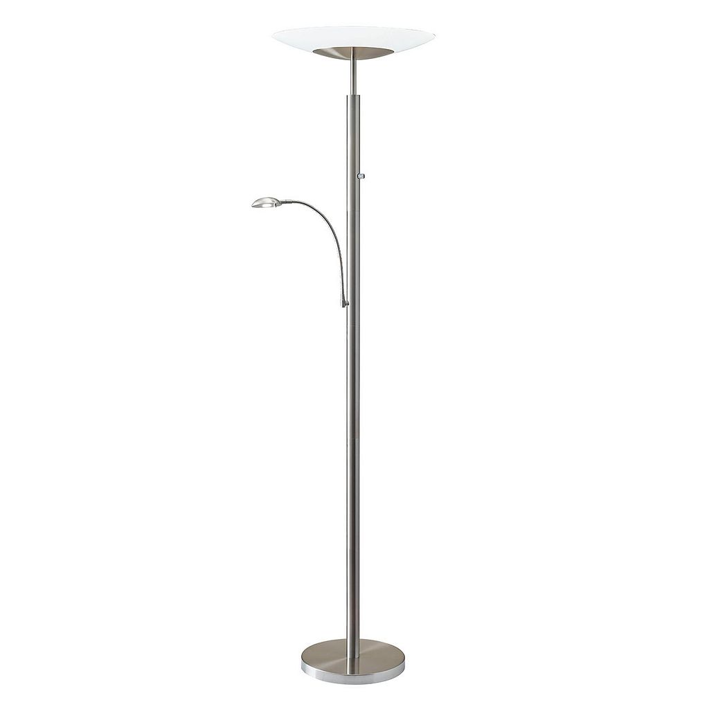 Adesso Stellar LED Combo Torchiere