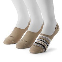 Men's GOLDTOE 3-pack Oxford Liner Socks