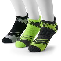 Men's GOLDTOE 3-pack PowerSox Power-Lites No-Show Socks