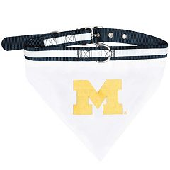 Michigan Wolverines NCAA Bandana Pet Collar