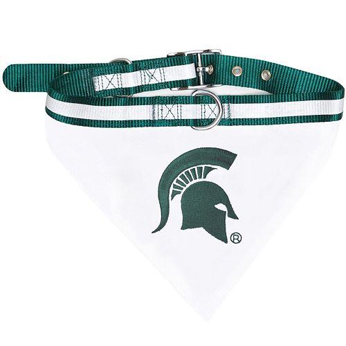 Michigan State Spartans NCAA Bandana Pet Collar