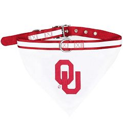 Oklahoma Sooners NCAA Bandana Pet Collar